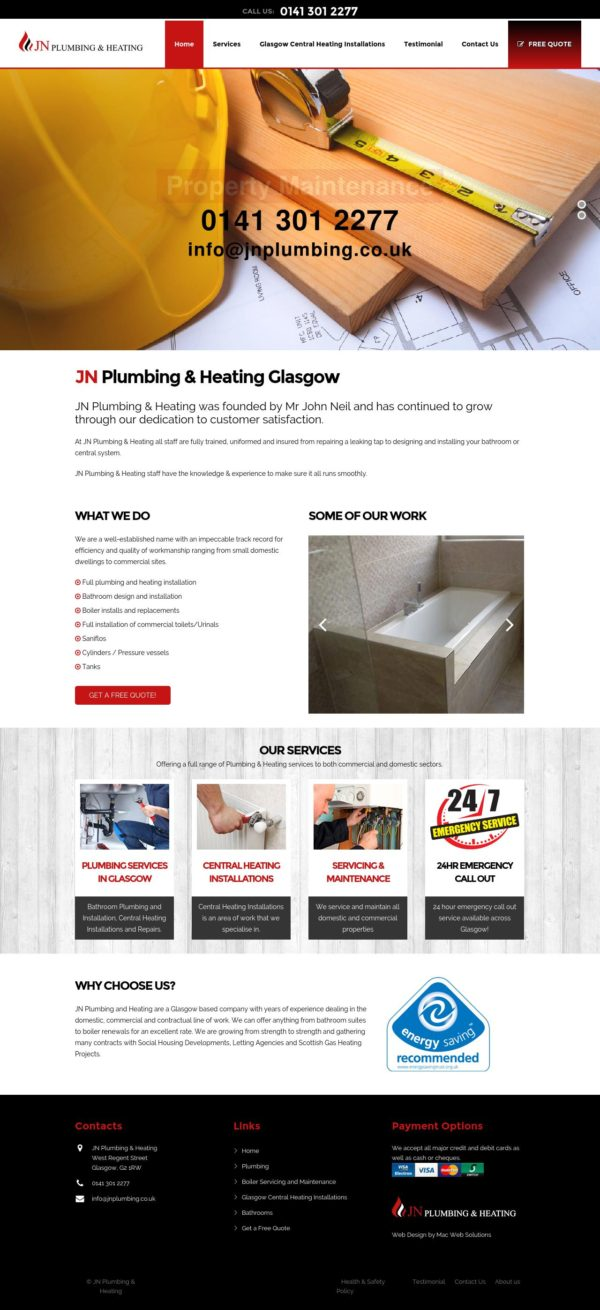 JN Plumbing and Heating